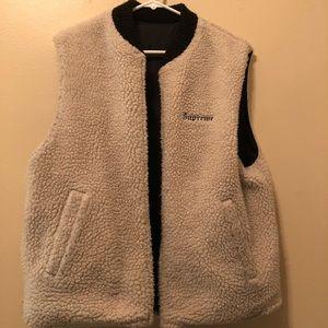 Supreme Sherpa Reversible Vest